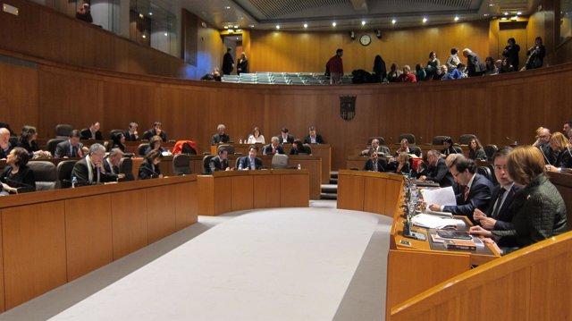PSOE, CHA e IU han votado en contra de los Presupuestos
