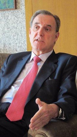 José María Arias Mosquera, durante uan entrevista con Europa Press
