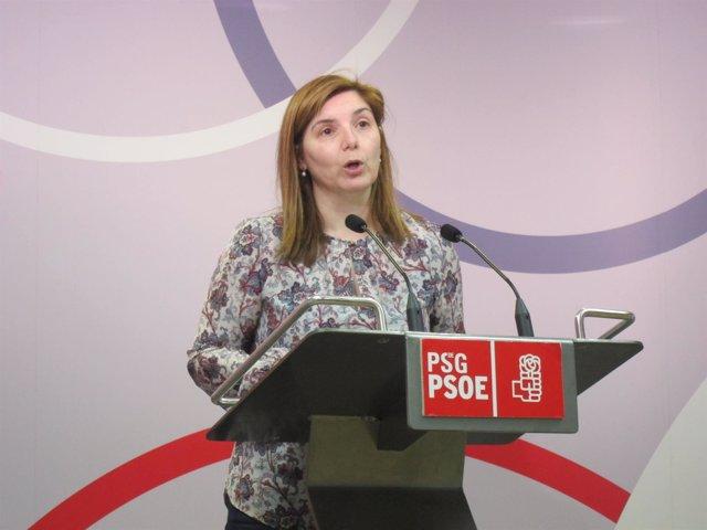 Pilar Cancela, secretaria de Organización del PSdeG