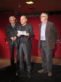 Inauguración de la muestra dedicada a Anna Lizaran en el Teatre Lliure