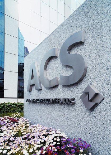 Economía/Empresas.- ACS fija en 0,446 euros el dividendo a cuenta que abonará mediante 'scrip dividend'