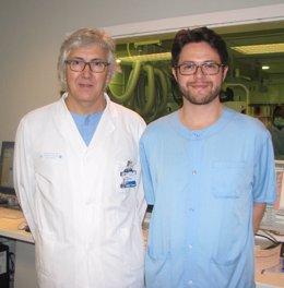 Javier Escaned y Mauro Echavarría-Pinto