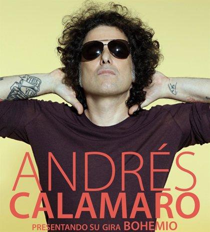 Andrés Calamaro agota entradas para su concierto de mayo en La Riviera y anuncia otro para el día siguiente