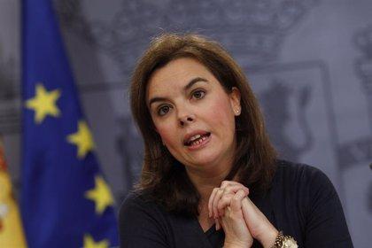 Soraya Sáenz de Santamaría acudirá junto a Rajoy a la clausura de la convención del PP catalán