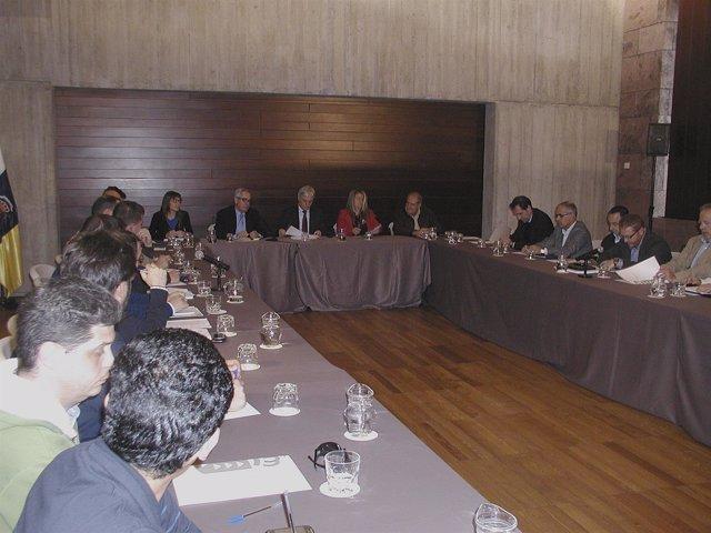 Reunión sobre el modelo de  financiación público privada de la construcción