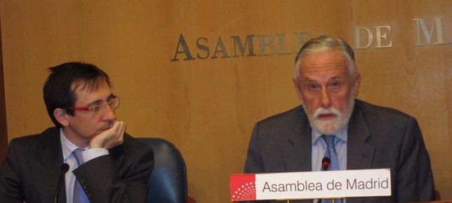 UPyD Asamblea de Madrid (Ramón Marcos y Luis de Velasco)
