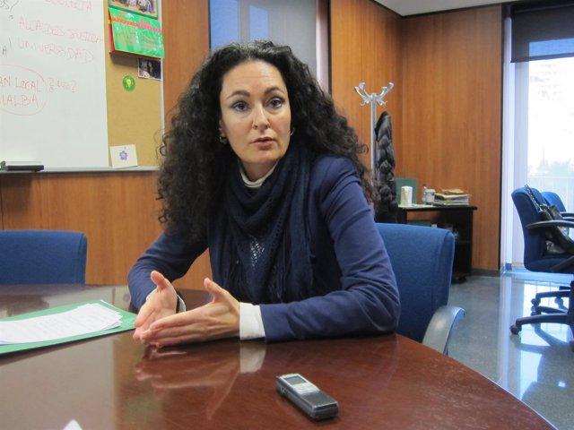 La delegada territorial de Igualdad, Salud y Bienestar Social, Lourdes Martín.