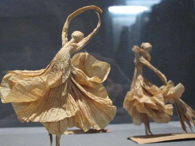 Bailarinas de origami