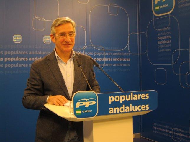 Miguel Ángel Arauz, hoy ante los medios