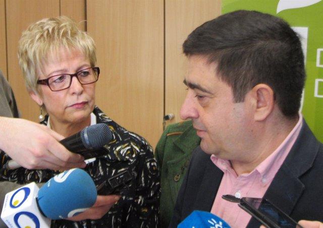 Elena Víboras y Francisco Reyes