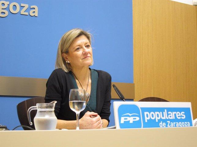La concejal del PP, Patricia Cavero.