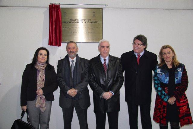 Inauguración del pabellón