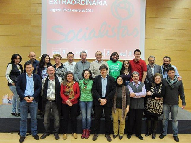 Nueva Agrupación Socialista de Logroño con Cruz-Dunne como secretario general