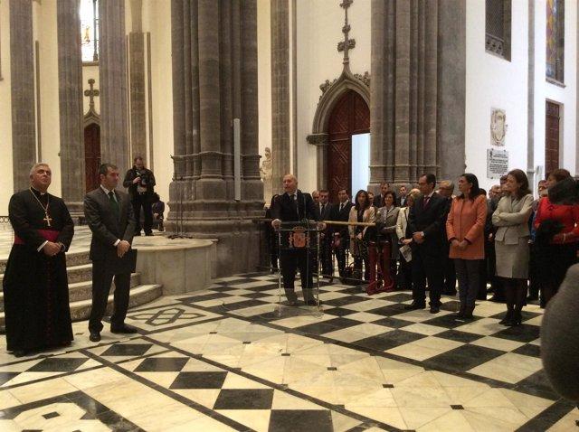Acto institucional de finalización de obras de la Catedral de La Laguna