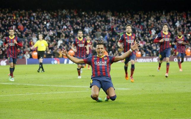 Barcelona Elche Alexis Sánchez