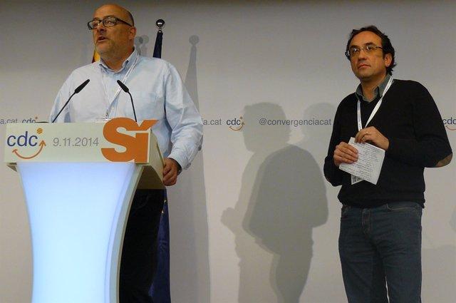 Josep Rull y Lluís Coromines, CDC