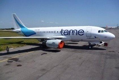 TAME reanuda los vuelos entre Quito y Caracas