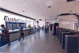 Estación de EuskoTren.
