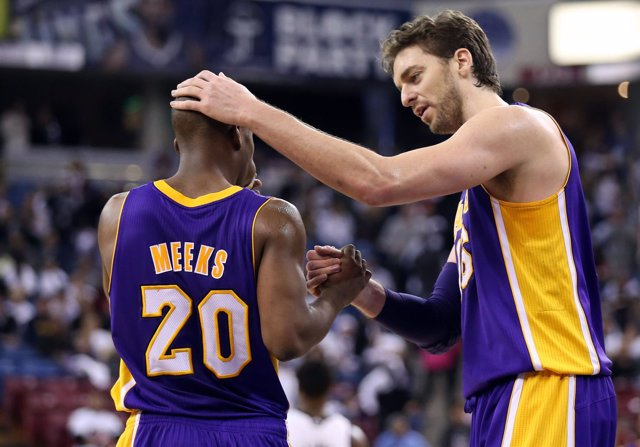 Los Angeles Lakers Sacramento Kings Pau Gasol Meeks