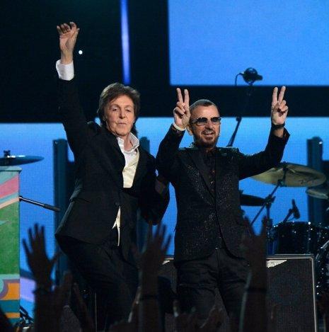 Paul y Ringo en lso GRammy