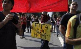 Protestas en Brasil contra el Mundial de Fútbol