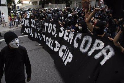 Rousseff convoca una reunión tras manifestaciones contra el Mundial