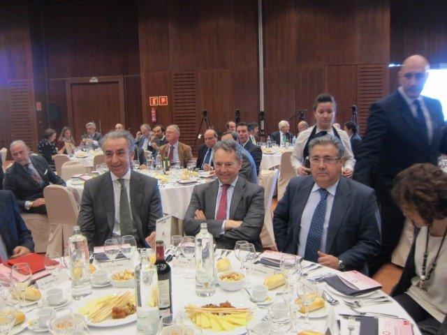 El secretario de Estado de Hacienda, Miguel Ferre, en una conferencia