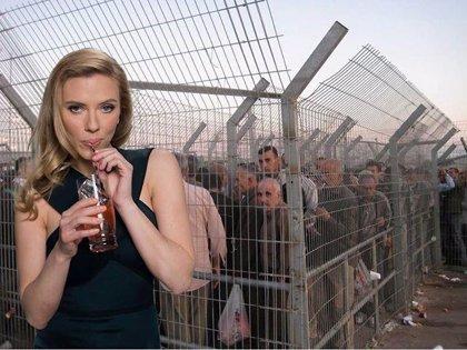 Críticas a Scarlett Johansson por colaborar con una empresa isrealí con sede en Cisjordania