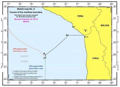 La CIJ mantiene 80 millas la actual frontera marítima desde la costa