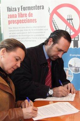 Maria Salom y José Ramón Bauzá