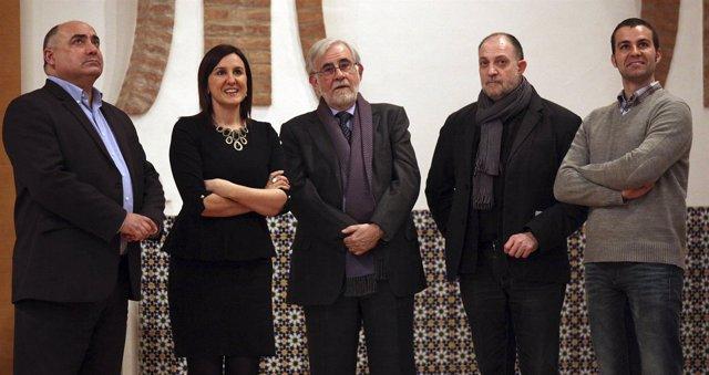 Català durante la constitución del Consejo Asesor de CulturArts