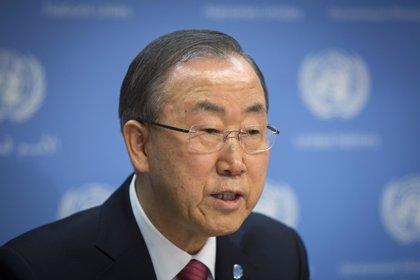 """Ban Ki Moon se reúne con Fidel Castro y debate """"temas clave"""""""