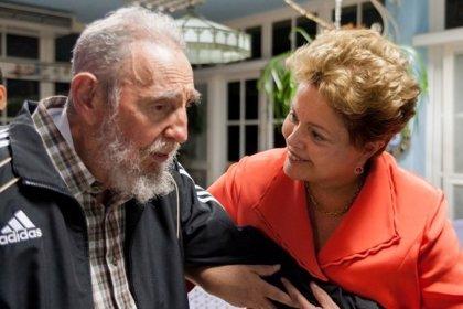 "Rousseff dice que Fidel Castro está ""lúcido"""