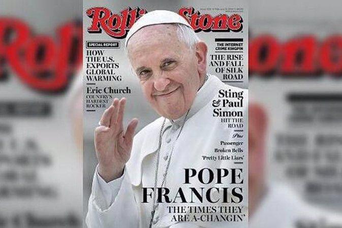 El Papa Francisco portada de Rolling Stone