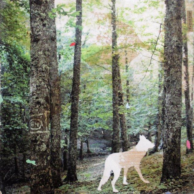 Una de las obras de Fernando Guijar que podrá verse en 'El Paisaje Latente'