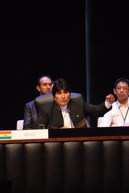 Bolivia.- Morales invita a sus colegas de la CELAC a asistir a la próxima cumbre del G77 más China