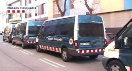 Desalojo de un inmueble ocupado en el distrito de Sants-Montjuïc