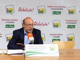 Ignacio García, parlamentario andaluz de IU por cádiz