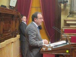 El conseller Ramon Espadaler, en el Parlament (ARCHIVO)