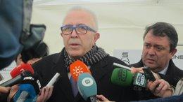 El consejero de Economía de la Junta de Andalucía, José Sánchez Maldonado.