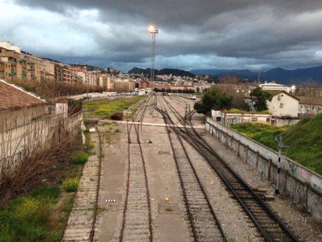 Estación de tren de Granada, en Avenida Andaluces