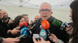 El consejero de Economía, Francisco Sánchez Maldonado.