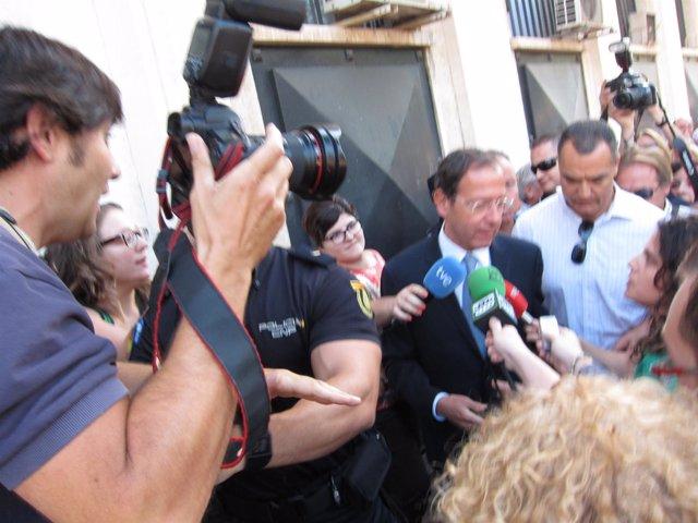 Miguel Ángel Cámara, En Los Juzgados