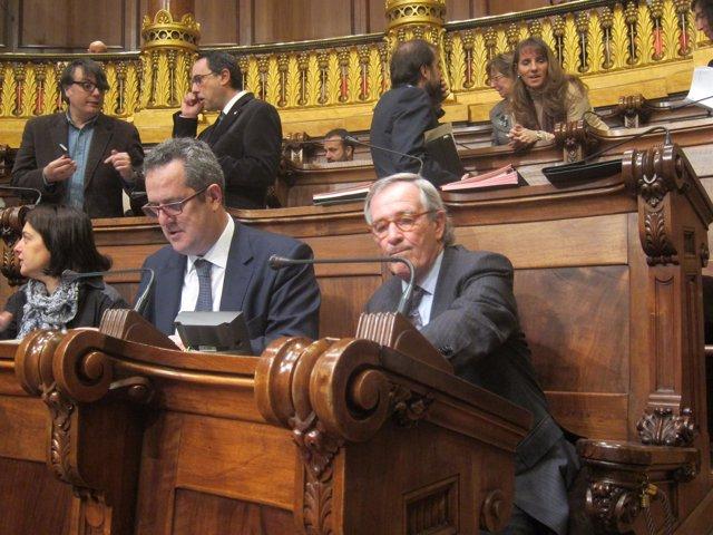 Xavier Trias y Joaquim Forn