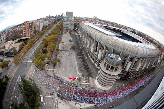 Derbi de las Aficiones en el Bernabéu