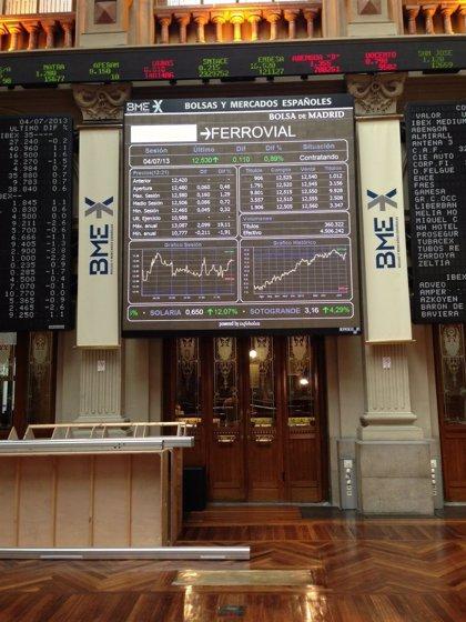 (Ampl.) El Ibex cede un 0,44% y cierra enero borrando las subidas de principios de año