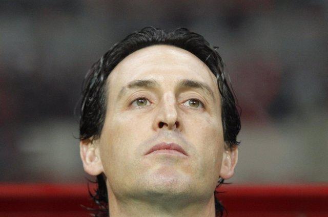Unai Emery, entrenador del Sevilla