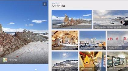 Dar un paseo por el Polo Sur ya es posible desde Google Street View