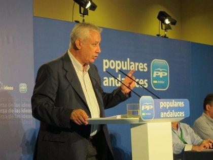 """Arenas califica a Mayor Oreja de """"gran servidor público"""" y a Aznar de """"un referente"""" que genera """"respeto y admiración"""""""