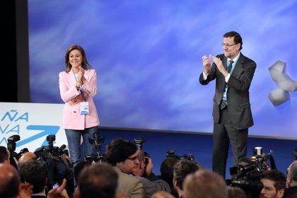 """Dirigentes de PP C-LM coinciden en que Cospedal ha demostrado su """"enorme liderazgo"""" y que """"tiene las ideas muy claras"""""""